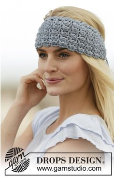 Crochet headband Woman headband Lace headband Cotton от Caillen