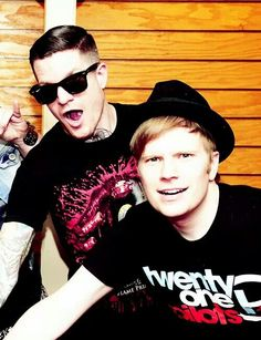 Andy and Patrick.Ah these two