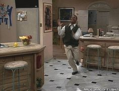 Hahaha, I loved this scene from Fresh Prince of Bel Air, when Carlton was led to believe that a girl got killed (by Will) in a prank gone horribly wrong;D