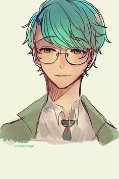 I can't tell if this is V with glasses or not