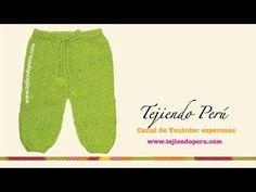 Pantalón a croché - Pantalones en crochet con subtitulo de BerlinCrochet - YouTube