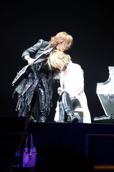Sugizo and Yoshiki. X Japan