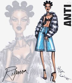 Rihanna #ANTI collection by Hayden Williams: Look 1