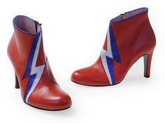 David Bowie inspire la créatrice de chaussures Annabel Winship - Boutique VIA UNO arrive à Paris - Le blog de Bettyboop - Be.com