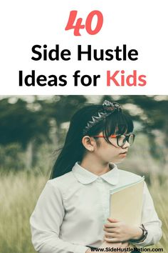 As a parent you probably want to impart skills of entrepreneurship, business and money to your kids. Enjoy this collection of 40 awesome side hustle ideas with your kids. It will help them become young entrepreneurs and get a jump-start on their career.