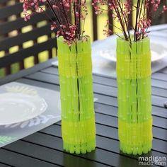 DIY Mother's Day : DIY Neon Vase