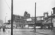 Highbury and Islington Station at the north-west corner of Highbury Corner Station damaged by a (aka a doodlebug) in June London History, Local History, North London, Old London, Old Pictures, Old Photos, London Street, English Countryside, Back In Time