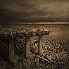 Apocolypse. Photograph tales from the wasteland vi by karezoid michal karcz
