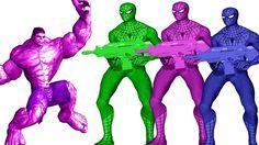 Hulk Vs Spiderman Finger Family | Finger Family Rhymes | Children Nursery Rhymes | Spiderman Songs http://youtu.be/PT-Vu4rmp3c