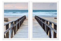 Boardwalk Diptych- one kings lane