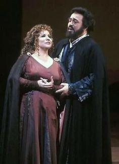 Aprille Millo & Luciano Pavarotti :'I lombardi',Met,1993
