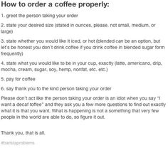 rt for customers to read! #BaristaLife