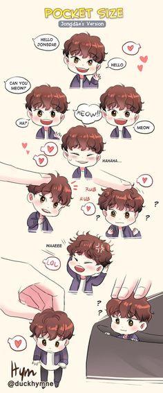 ChiBi : Photo EXO Chen>> this is so adorable~~~! K Pop, Fanart Kpop, Exo Anime, Exo Fan Art, Xiuchen, Kim Jongdae, Baekhyun Chanyeol, Exo Memes, Bts And Exo