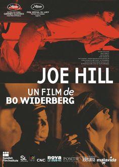 Joe Hill by Bo Widerberg. 1971 Poster.  Cannes Classics - Cinéma de la Plage.