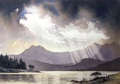 Gallery | Snowdonia | Landscape Watercolour Paintings of Snowdonia, North Wales - CHRIS HULL | artist & illustrator