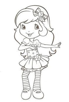 Sonhando com cores: Nova Moranguinho e sua turma - para colorir Barbie Coloring Pages, Cute Coloring Pages, Adult Coloring Pages, Coloring Pages For Kids, Coloring Books, Strawberry Shortcake Cartoon, Strawberry Shortcake Coloring Pages, My Little Pony Drawing, Drawing For Kids