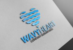 Heart Logo Template by josuf on Creative Market