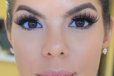 Como aplicar pestañas postizas  en 2 minutos/ how to false lashes easy