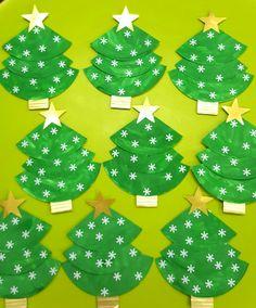 Painted Christmas Tree