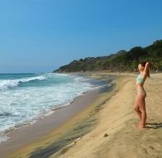 Playa Patzacuro about two miles outside of town. Love Birds, The Outsiders, Mexico, Beach, Places, Water, Outdoor, Gripe Water, Outdoors
