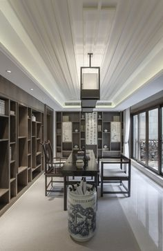 Asian interior design that we choose for you! Modern Chinese Interior, Asian Interior Design, Modern Asian, Interior Design Inspiration, Interior Styling, Oriental Decor, Indochine, Asian Decor, Contemporary Home Decor