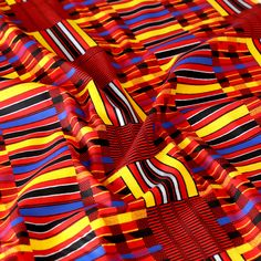 Global Red Cotton Fabric