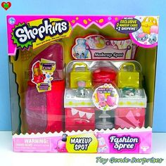 #Repost @toygeniesurprises ・・・ *NEW* Shopkins Makeup Spot Playset Fashion Spree #shopkins #shopkinsplayset #shopkinsseason3 #shopkinsmakeupspot #shopkinsfashionspree