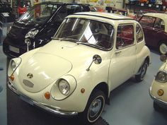 """Subaru 360. The Subaru 360s were """"offically"""" imported to the U.S. in 1968 by Malcolm Bricklin.  Most of them remained unsold even three years later. They were retailing for about $1,300, and one dealer was offering SIX (6) of them for $2K, brand new! Gotta love those six-fer sales..."""