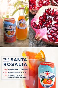 Enjoy TheLife Deliziosa with this sparkling, non-alcoholic drink. Pour pomegranate syrup and grapefruit juice into yourtumbler.Fill with ice and top with Sanpellegrino® Aranciata. This refreshing drink is garnished with an orange slice and is perfect for sipping on a white sandy beach under a striped umbrella. Alcohol should be consumed by people 21+.