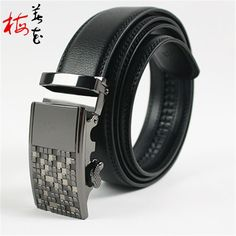 Aliexpress.com : Buy 2016 New Jeans Men'S Designer Automatic Leather Buckle Genuine Leather Belts 130 Cm Wholesale Free Shipping from Reliable jeans making suppliers on YanYang International Company Ltd. Leather Buckle, Leather Belts, Leather Design, Waist Belts, Business Casual, Belt Buckles, Branding Design, Mens Fashion, Stuff To Buy