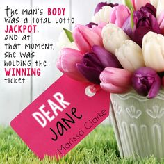 Dear Jane by Marissa Clarke from Entangled Publishing.