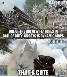 battlefield 4 memes | Battlefield 4 Vs. Cod: Ghosts - Meme Center