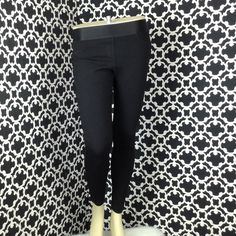 """LISTING Bebe Leggings These Bebe leggings are awesome, and they hug your butt perfect! Thicker material, no sheerness when you put them on. Satin elastic waist with faux pockets. Wore once, don't fit anymore. Measures a 28"""" inseam. bebe Pants Leggings"""