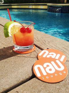El aspecto hermoso cóctel 'Sea Breeze' desarrollado por el equipo de #Nau #Lounge