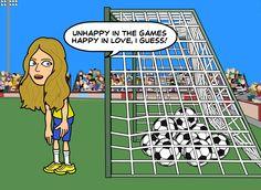 """ Térrèse is feeling sorry for Brazilian football team. What a shame!! """