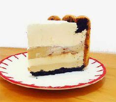 One Perfect Bite: Tiramisu Ice Cream Cake