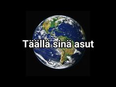 MAAPALLO VERRATTUNA UNIVERSUMIIN - YouTube Planetary System, World Music, Music Albums, Geography, Wonders Of The World, Videos, Christmas Bulbs, Science, Teaching