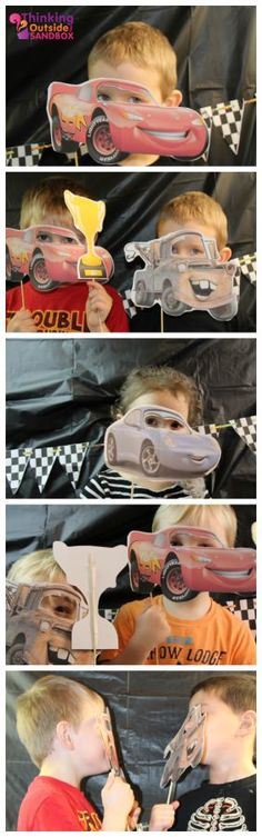 Disney CARS Photo Booth Activity #DisneySide