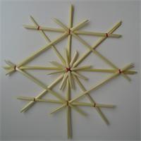 Etoile en paille  Déco Noël à fabriquer - Loisirs créatifs Straw Star Tutorial
