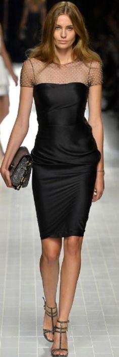 Little Black Italian Dress