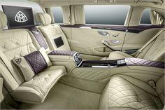 Assentos opostos, estofos em pele e um preço suculento: O carro vai custar pelo menos meio milhão de euros