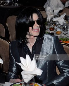 Entertainer Michael Jackson attends Jesse Jackson's 65th birthday at the Beverly Hilton Hotel on November 8, 2007 in Beverly Hills, California.