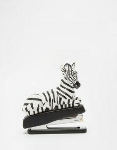 Image 1 ofPaperchase Serengeti Zebra Stapler