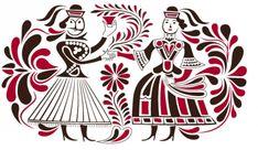 Hungarian Tattoo, Hungarian Embroidery, Folk Embroidery, Modern Embroidery, Portal, Russian Folk Art, Sheep Farm, Ares, Stencil Art