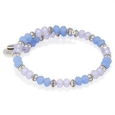Periwinkle Sentiment Wrap | ALEX AND ANI