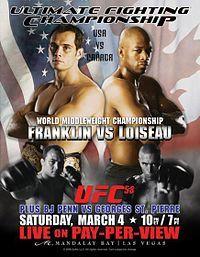 UFC 58: USA vs Canada.