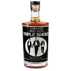 Corsair Triple Smoke American Malt Whiskey 750ml Artisan Whiskey of the Year - Whisky Advocate 2013, $47.99 (http://www.shopwinedirect.com/corsair-triple-smoke-american-malt-whiskey-750ml.html/)