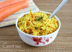 Carrot Rice 1 by Jeyashrisuresh, via Flickr