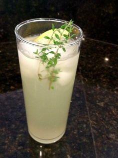 Thyme and Lime Lemonade