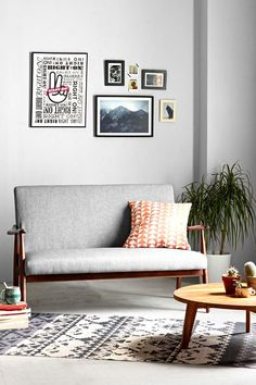 Sterling Wood Frame Sofa | UO